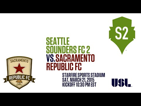 USL: Seattle Sounders FC 2 vs Sacramento Republic FC | Inaugural Match