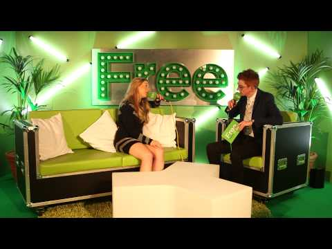 Free Radio Live 2014: Becky Hill Backstage Interview