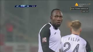Zoua are o ocazie mare de gol! Astra Giurgiu - Dinamo Bucuresti