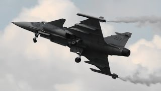 RIAT 2014 JAS39C Gripen Swedish Air Force  The Royal International Air Tattoo