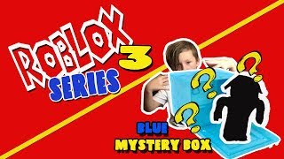 ROBLOX SERIES 3 Blue Mystery Boxes BLIND BOX OPENING Toy Review | XbomFamily