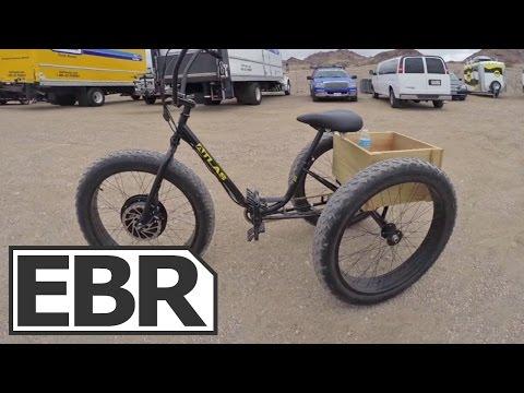 E-BikeKit E-Trike Kit Video Review - Electric Sun Bicycles Fat Trike Conversion