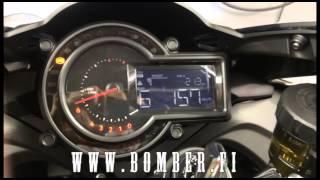 Bomber Magazines Kawasaki H2 on real dyno, made 197bhp!