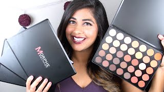 New Morphe Eyeshadow Palettes: Review & Swatches!