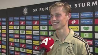 Frenkie de Jong: 'Die Klaas wil weer een hattrickje maken...'