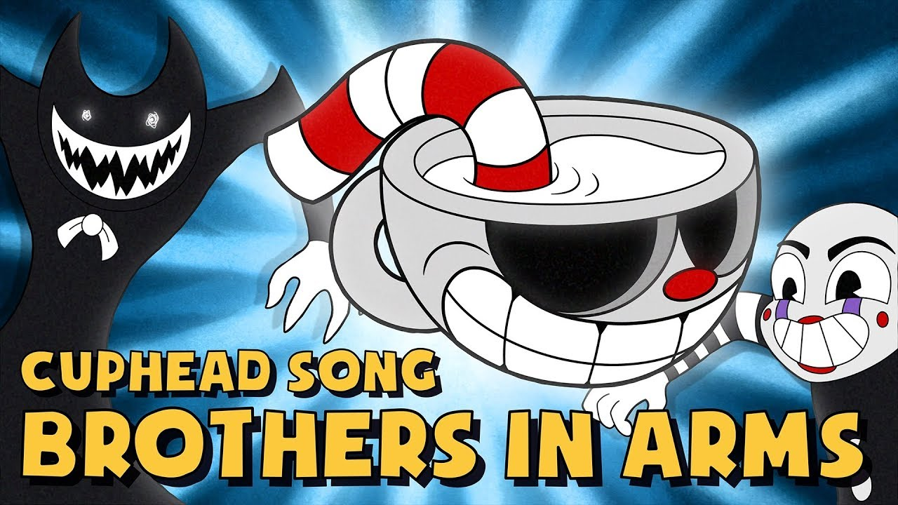 Cuphead Song Brothers In Arms Lyric Video Dagames Youtube