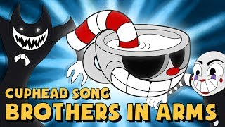 Download CUPHEAD SONG (BROTHERS IN ARMS) LYRIC VIDEO - DAGames Mp3 and Videos