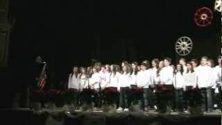 21. Concerto di Natale 2012 Scuola Marco Polo Fabriano - Lascia che nevichi