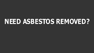 Commercial Asbestos Removal Service Adelaide Phone AsbestosAdelaidecom now on 08) 7100 1411 Commerci