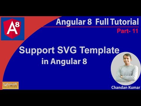 Angular 8 new Features - Support SVG Template | features of Angular 8 thumbnail