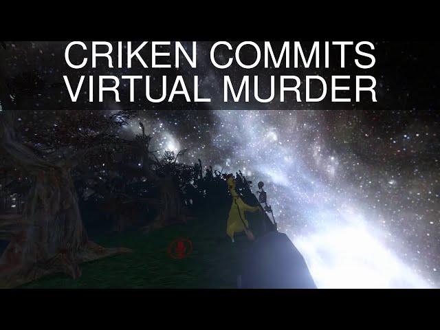 CRIKEN COMMITS VIRTUAL MURDER