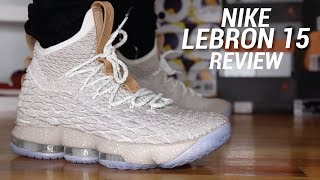 NIKE LEBRON 15 GHOST REVIEW
