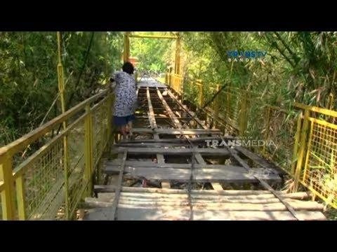 Jembatan Penghubung di Cirebon Rusak, Butuh Ulur Tangan Pemerintah