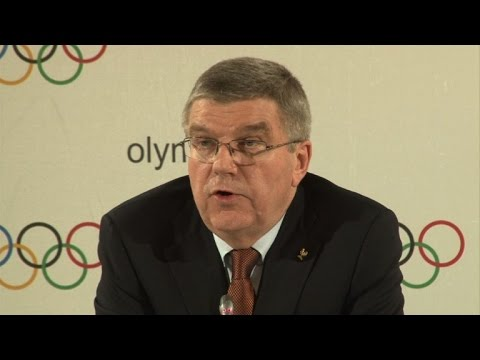 IOC chief says 'no evidence' of Olympic bid corruption