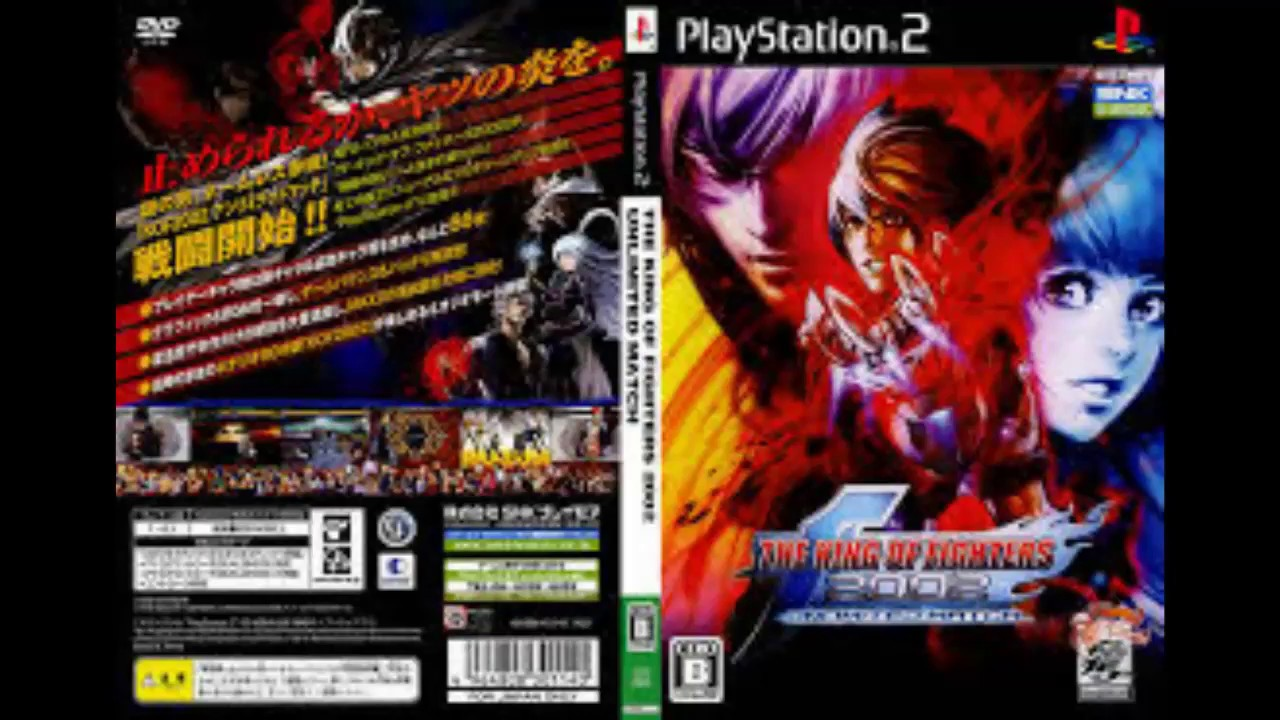 Descargar The King Of Fighters 2002 Unlimited Match Ps2 Iso Ntsc