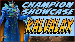CHAMPION SPOTLIGHT:  Kalvalax | Raid Shadow Legends