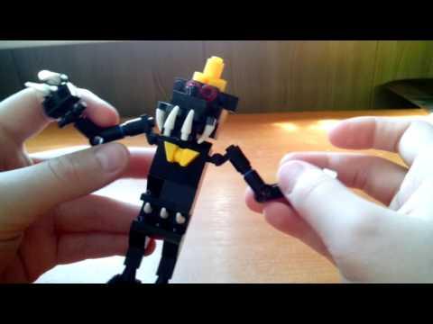 Лего самоделка фнаф #4 кошмар