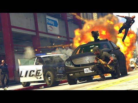 GTA 5 Online - ROBBERY FAIL! (GTA V Online)