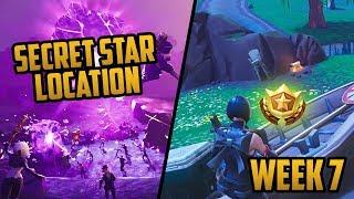 Season 6, Week 7 | *SECRET* Battle Star! (Free Tier) Location - Fortnite