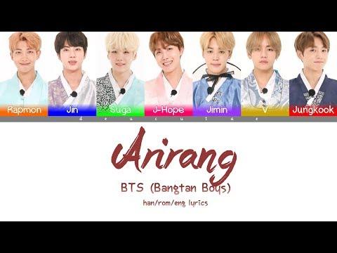 *CORRECTION IN DESCRIPTION* BTS (방탄소년단) - ARIRANG Lyrics (Color Coded Han/Rom/Eng)