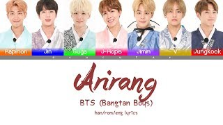 *CORRECTION IN DESCRIPTION* BTS (방탄소년단) - 'ARIRANG(아리랑)' Lyrics (Color Coded Han/Rom/Eng/가사)