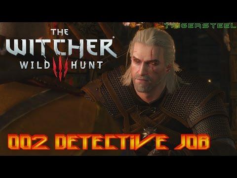 The Witcher 3: Wild Hunt PS4 #002 Detective Job 60FPS English/German-Subtitle