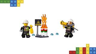 Lego Feuerwehrfahrzeug mit fahrbarer Leiter 60107: Rezension