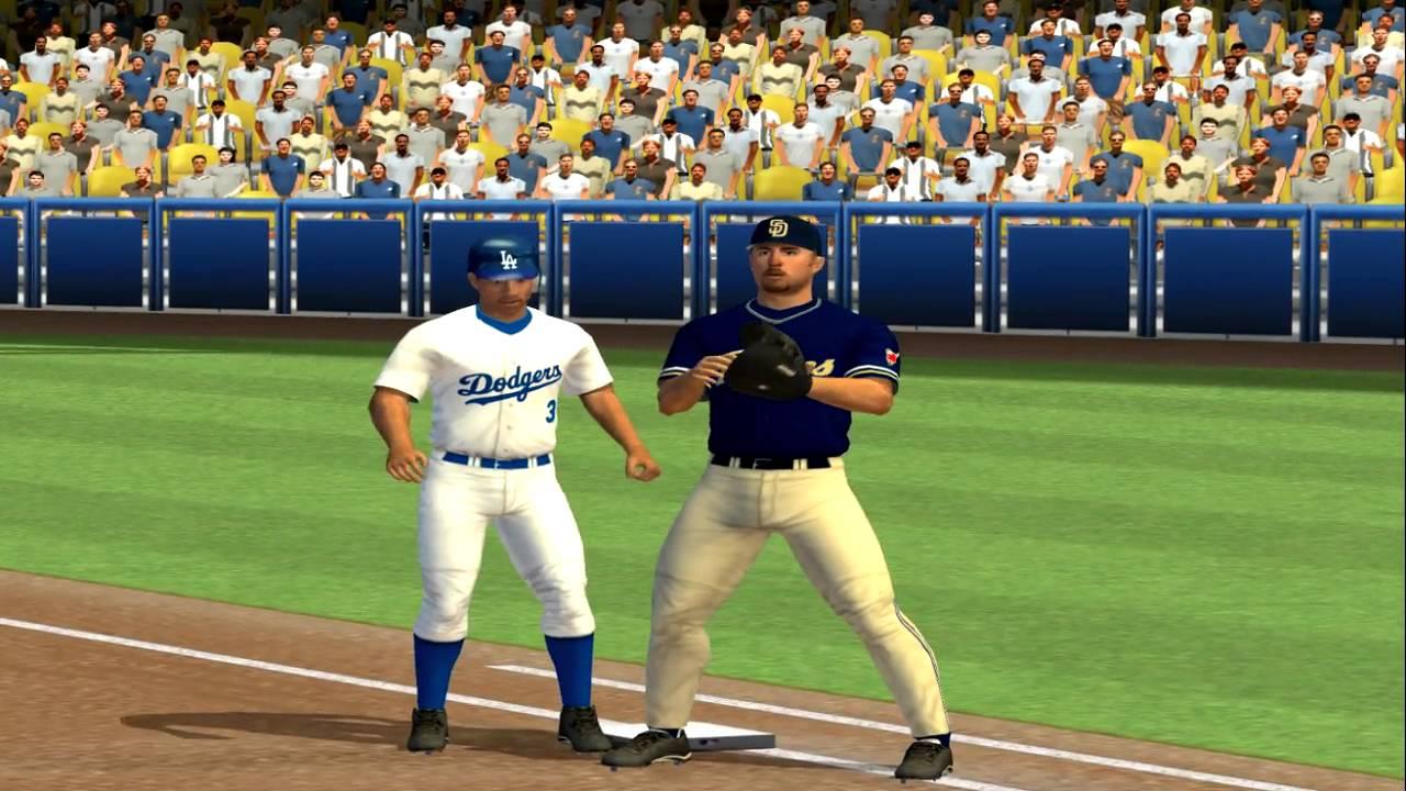 Download MLB 2005 Baseball PS2 PCSX2 Padres vs Dodgers 60fps gameplay