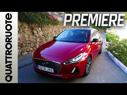 Hyundai i30 prova su strada a Marbella Quattroruote Exclusive Premiere