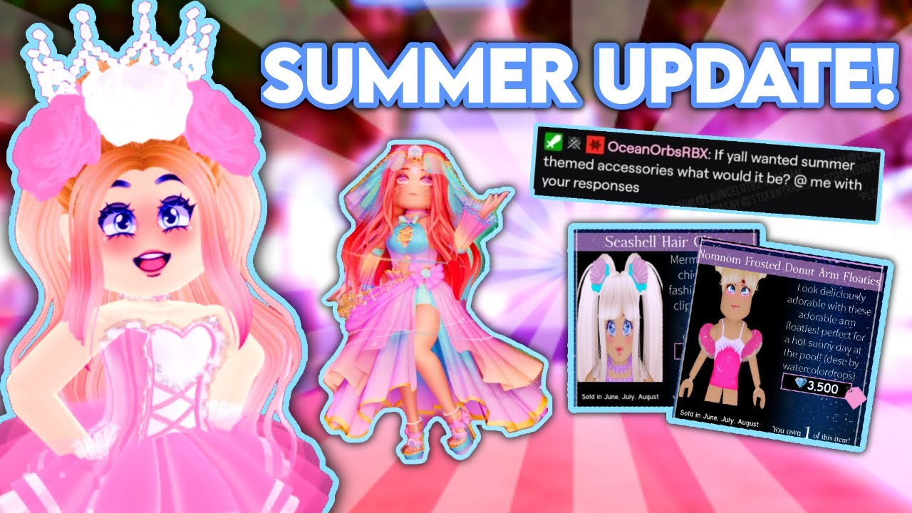 ROYALE HIGH SUMMER UPDATE 2021 TEA! PREDICTIONS & CONCEPTS FOR SUMMER! Royale High Tea Spill 2021