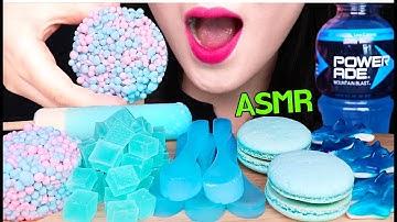 ASMR EDIBLE ICE SPOON, ICE CREAM, KOHAKUTO, MACARON 숟가락 얼음, 구슬 아이스크림, 코하쿠토, 마카롱 먹방 EATING SOUNDS