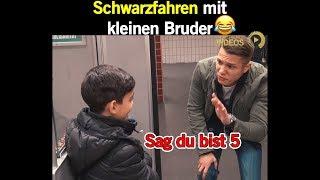 Schwarzfahren mit kleinen Bruder 😂 | Best Trend Videos