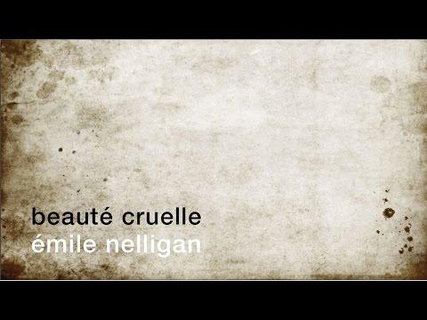 La minute de poésie : Beauté cruelle [Émile Nelligan]