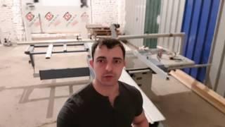 видео Ремонт форматно раскроечных станков