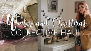 COLLECTIVE WINTER & CHRISTMAS HAUL 2016 | Boho Room Decor & Clothing!