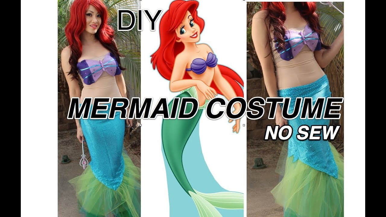 Ariel diy costume full diy mermaid costume post - Ariel Diy Costume Full Diy Mermaid Costume Post 16
