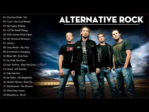 Alternative Rock Hits - Best Alternative Rock Of 90s 2000 -  Rock Songs Collection