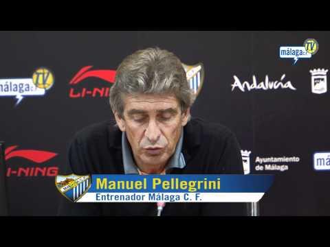 Málaga Club de Fútbol. Viernes 05/11/10 Presentación Manuel Pellegrini