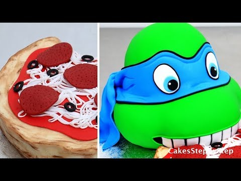 How To Make Ninja Turtle Birthday Cake