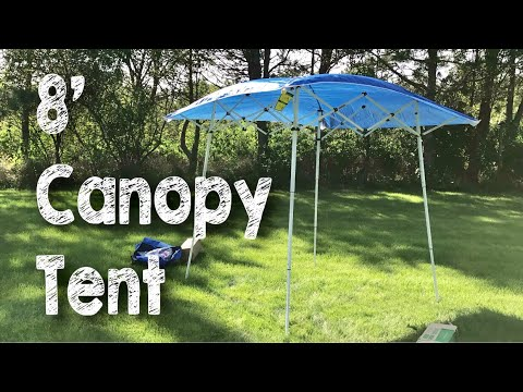 8' x 8' Evo Shade Instant Canopy Sunshade Tent by Caravan Canopy Review