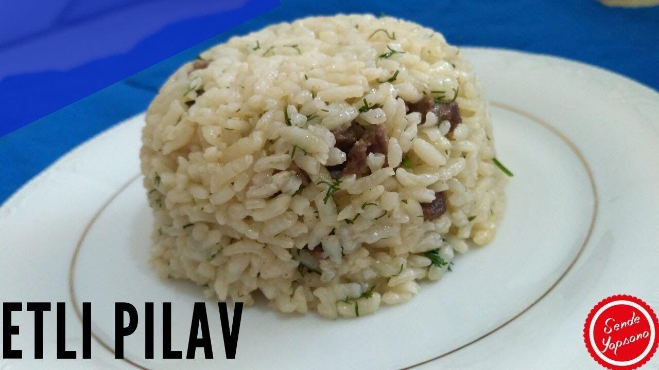 Etli Pirinç Pilavı Nasıl Yapılır-Etli Yemek Tarifleri