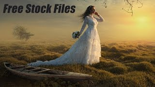 Download Video Photoshop Manipulation Tutorial Grass Wave Photo Effects MP3 3GP MP4