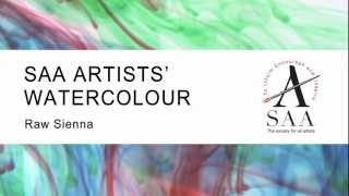 SAA Artists Watercolour - 602 Raw Sienna