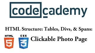 HTML and CSS: Clickable Photo Page