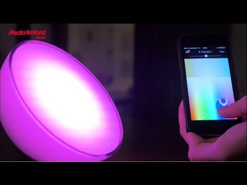 Philips Hue le lampadine gestibili da smartphone e tablet - Recensione ITA -