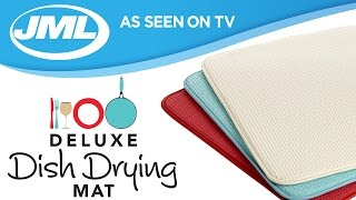 Deluxe Dish Drying Mat from JML