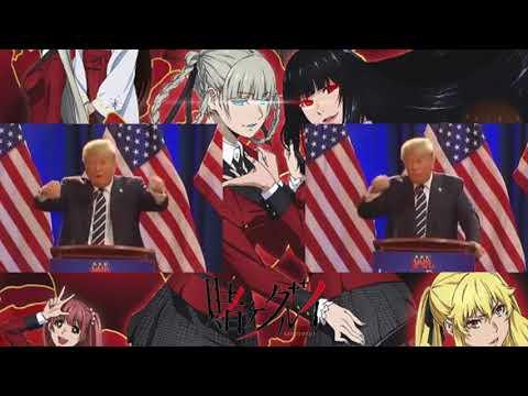 Donald Trump sings Deal With The Devil (Kakegurui opening)