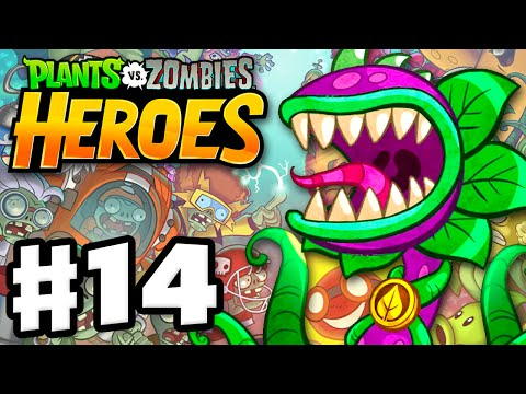 Plants vs. Zombies: Heroes - Gameplay Walkthrough Part 14 - Chompzilla! (iOS, Android)