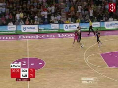Telekom Baskets Bonn - ALBA Berlin (Die letzten Sekunden)