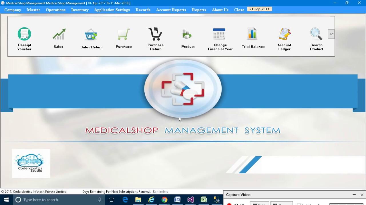 Medical Shop ERP, Medical Shop Software Source Code